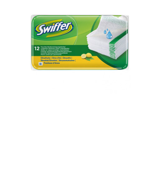 Image Wet Floor Wipes - Box of 12