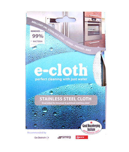 Image Stainless Steel Cloth - Microfibre Grey