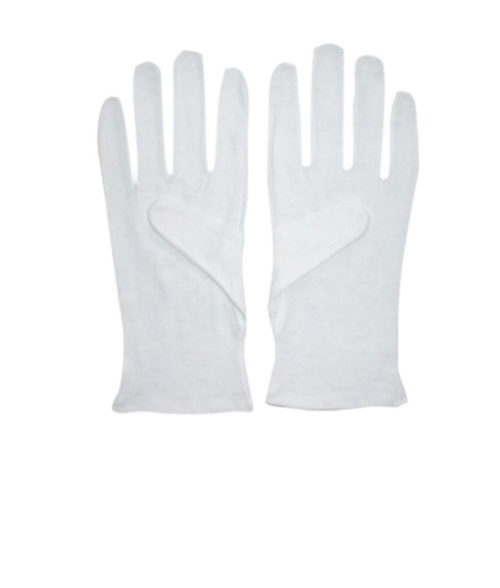 Image Lint-Free Cotton Gloves White - Pack of 10