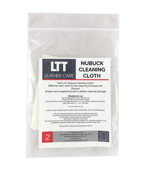 Image Nubuck Cleaning Cloth - Pack of 2