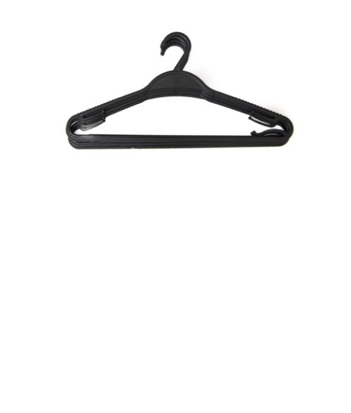 Image Plastic Laundry Hangers - Pack of 10