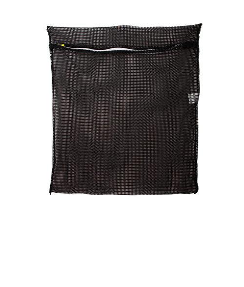 Image Net Bag with Zipper - Black