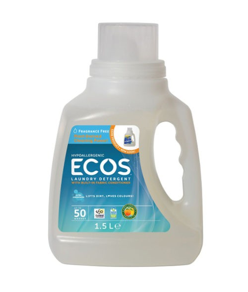 Image Ecos Laundry Liquid Fragrance Free - 1.5L