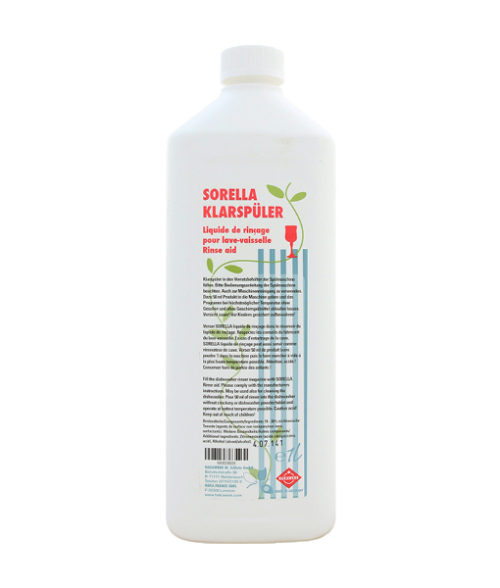 Image Dishwasher Rinse Aid Sorella - 1L