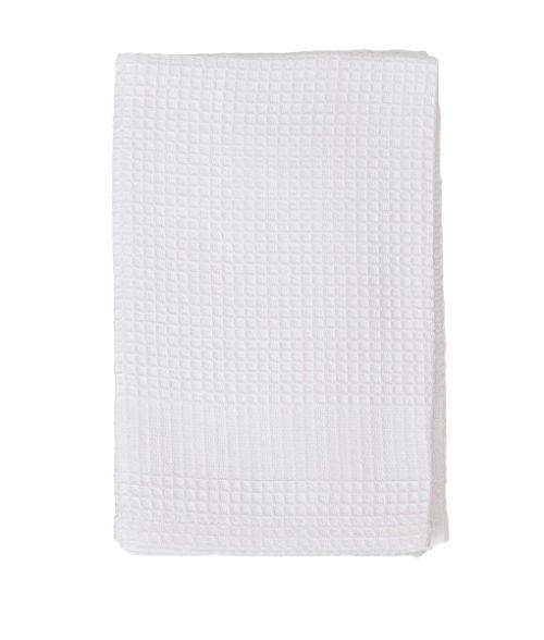 Image White Cotton Tea Towel White