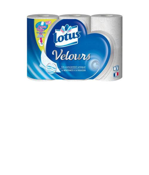 Image Ph Velours Toilet Paper - Pack of 6