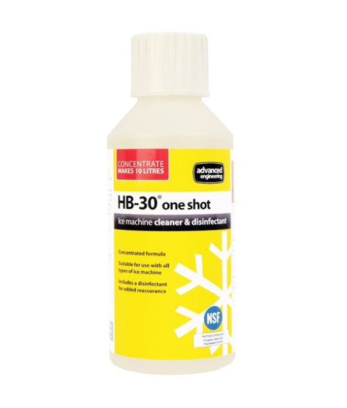 Image HB-30 Ice Maker Machine Cleaner and Disinfectant - 250ml